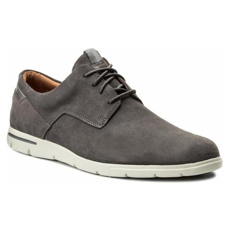 Półbuty CLARKS - Vennor Walk 261317507 Grey Suede