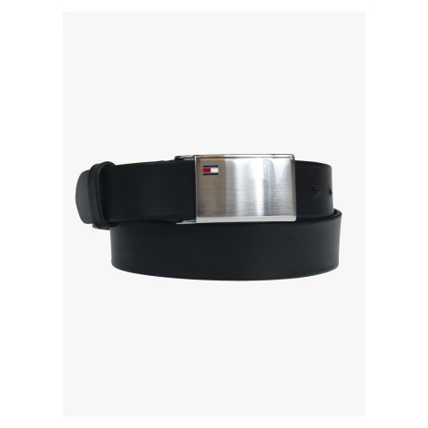 "Tommy Hilfiger ""Plaque Belt"" Black"