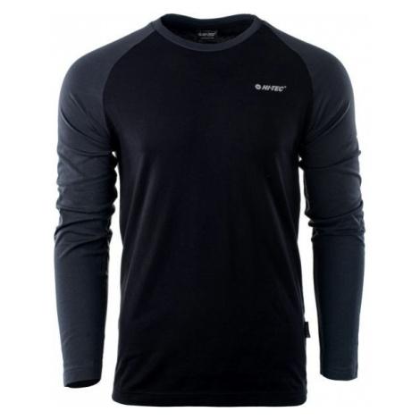 Hi-Tec PURO LS czarny L - Koszulka męska z długim rękawem