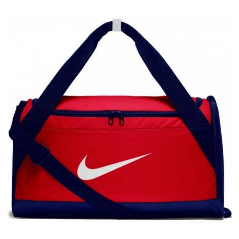 Nike BRASILA S TRAINIG DUFFEL BAG czerwony S - Torba sportowa