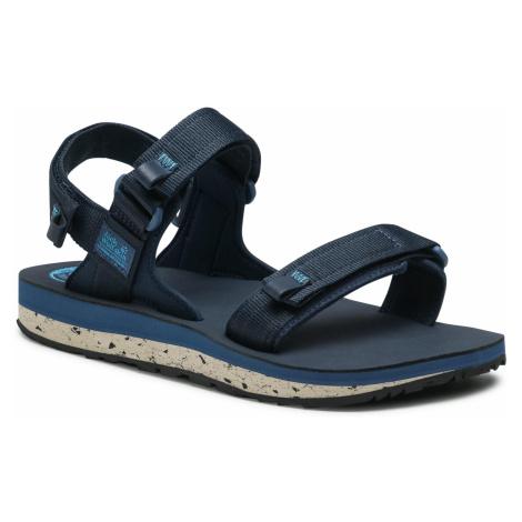 Sandały JACK WOLFSKIN - Outfresh Deluxe Sandal M 4039431 Dark Blue/Blue
