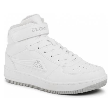 Kappa Sneakersy Bash Mid Fur 242799 Biały