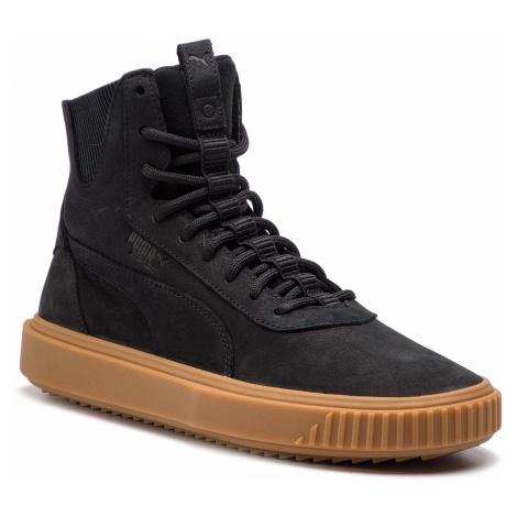Sneakersy PUMA - Breaker Hi Gum 367715 01 Puma Black/Puma Black
