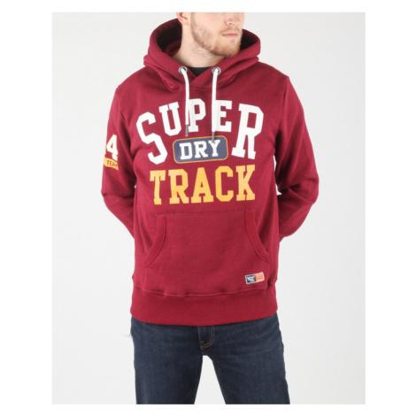 SuperDry Bluza Czerwony