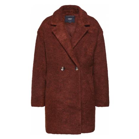 ONLY Płaszcz przejściowy 'NINA CELESTE' rdzawoczerwony