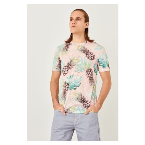 Trendyol Powder pineapple Patterned T-shirt