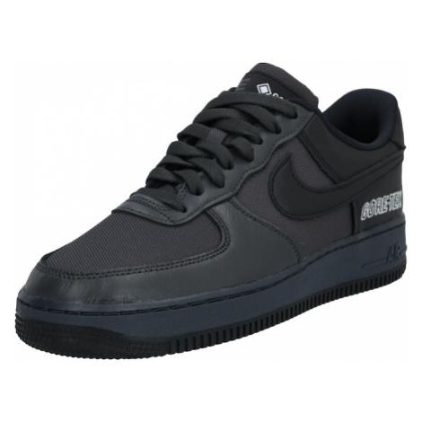 Nike Sportswear Trampki niskie 'Air Force 1' czarny