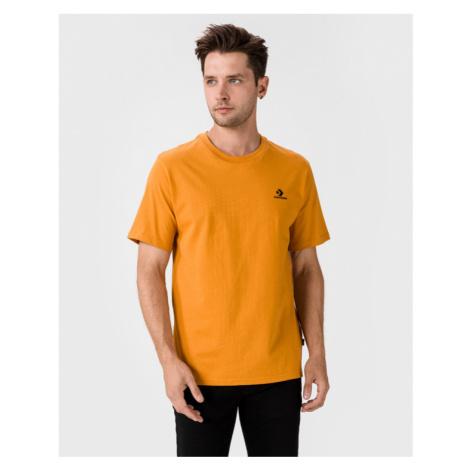 Converse Embroidered Star Chevron Koszulka Pomarańczowy