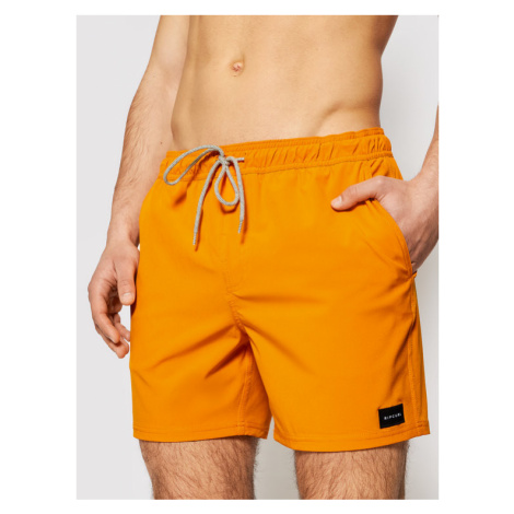 Rip Curl Szorty kąpielowe Daily Volley 16 CBONN4 Pomarańczowy Regular Fit