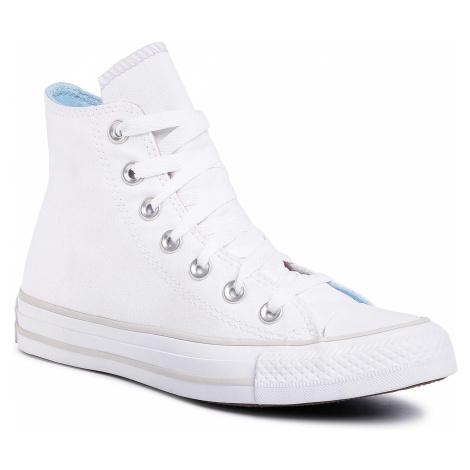 Trampki CONVERSE - Ctas Hi 567737C White/Multi/pale Putty