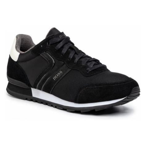 Boss Sneakersy Parkour 50433661 10214574 01 Czarny Hugo Boss