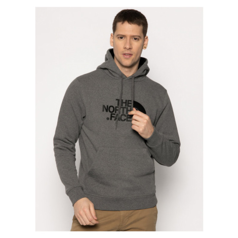 The North Face Bluza Drew Peak Pul Hoodie NF00AHJYLXS1 Szary Regular Fit