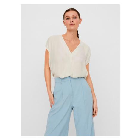 Vero Moda Flannery Bluzka Biały