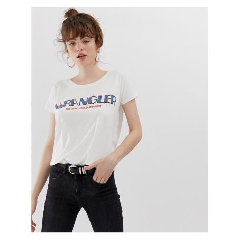 Wrangler New Wave logo t-shirt
