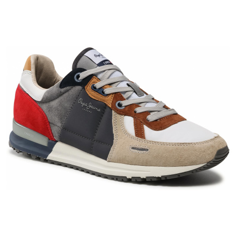 Sneakersy PEPE JEANS - Tinker Pro 309 PMS30732 Sand 847