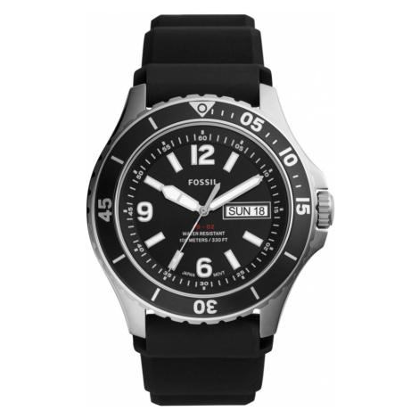 Zegarek FOSSIL - FB-01 FS5689 Black/Silver
