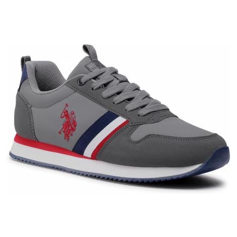 Sneakersy U.S. POLO ASSN. - Nobi1 Club NOBIL4243S0/YH1 Grey