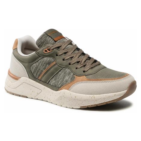 Sneakersy LANETTI - MP07-01436-02 Khaki