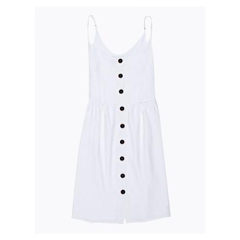 GATE Sukienka midi na ramiączkach z zapięciem na guziki