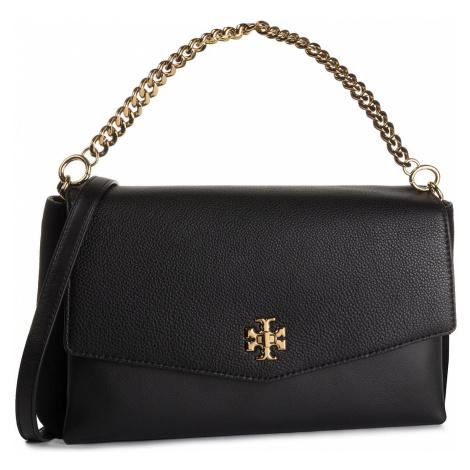 Torebka TORY BURCH - Kira Mixed-Materials Shoulder Bag 56382 Black 001