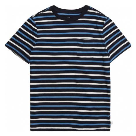 GAP Koszulka niebieski / granatowy / biały