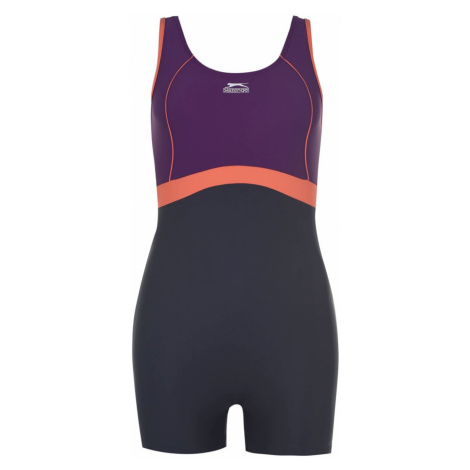 Slazenger Boyleg Swimsuit Ladies