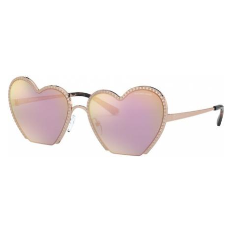 Michael Kors Okulary przeciwsłoneczne fioletowy / brąz