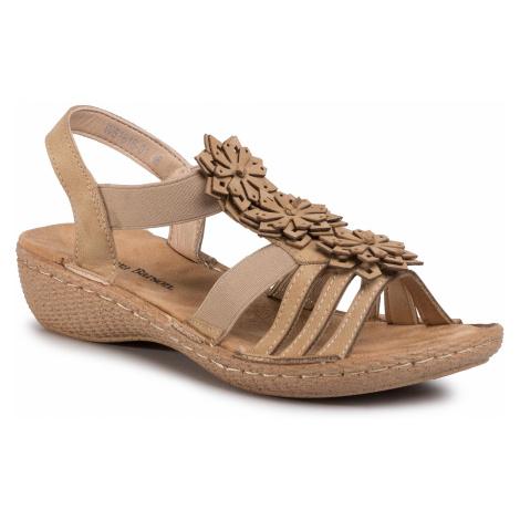 Sandały CLARA BARSON - WS1616-01 Camel