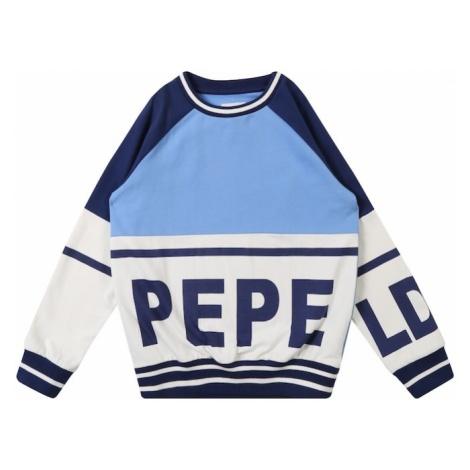 Pepe Jeans Bluza 'MANU' niebieski / biały