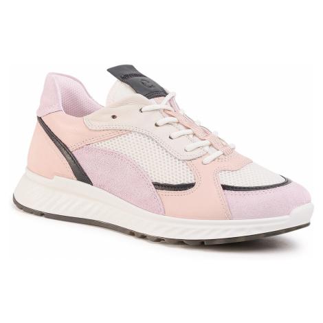 Sneakersy ECCO - ST.1 W 83627351889 Blossom Rose/Black/White/Rose Dust