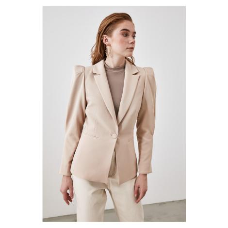 Trendyol Beige Shoulder Detailed Jacket