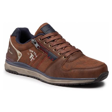 Sneakersy TOM TAILOR - 9082701 Cognac