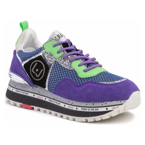 Sneakersy LIU JO - Maxi Alexa Running BXX051 PX071 Purple S1202