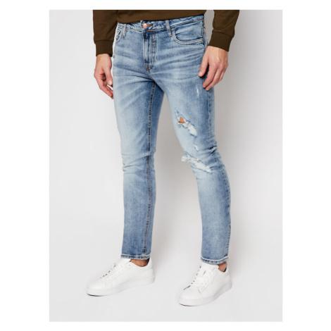 Guess Jeansy Skinny Fit Miami M0YAN1 D4323 Niebieski Skinny Fit