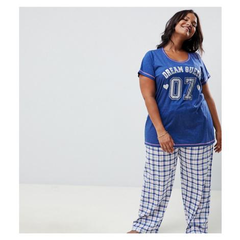 Yours Dream Checked Pyjama Set