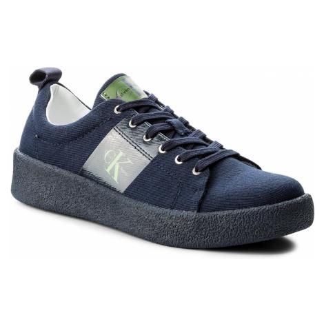 Sneakersy CALVIN KLEIN JEANS - Gerardo Twill S0528 Indigo