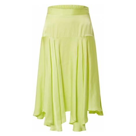 Custommade Spódnica 'Vila Skirt' neonowo-żółty