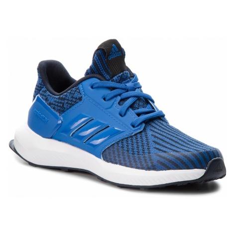 Buty adidas - RapidaRun Knit C AH2591 Blue/Legink/Ftwwht