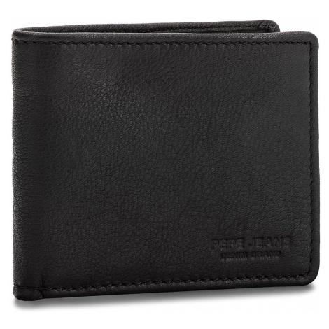 Duży Portfel Męski PEPE JEANS - Beal Wallet PM070293 Black 999