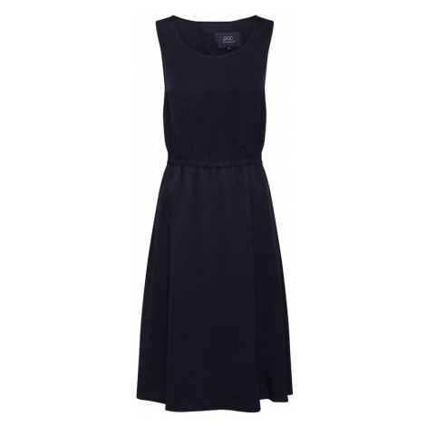 Pop Copenhagen Sukienka koktajlowa 'Metallic Midi Flare Dress' czarny