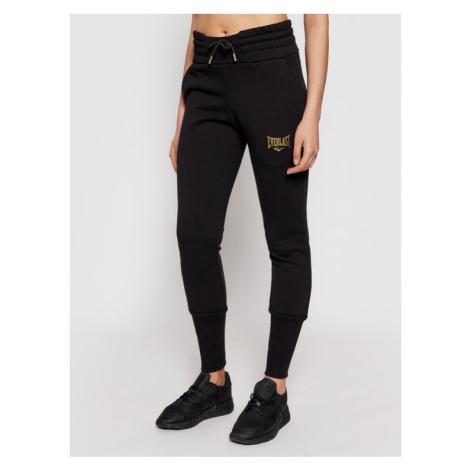 EVERLAST Spodnie dresowe 811570-60 Czarny Regular Fit