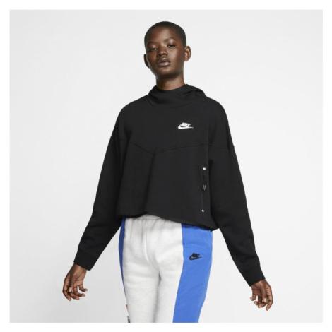 Damska bluza z kapturem Nike Sportswear Tech Fleece - Czerń