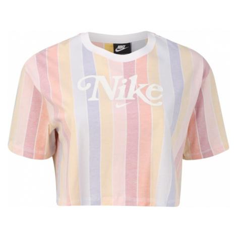 Nike Sportswear Koszulka 'RET FEM' jasnoróżowy / podpalany niebieski / jasnożółty / biały / jasn