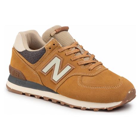 Sneakersy NEW BALANCE - ML574SOI Brązowy