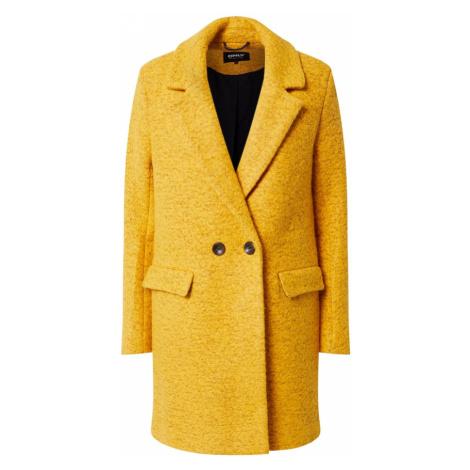 ONLY Płaszcz zimowy 'Wally' żółty