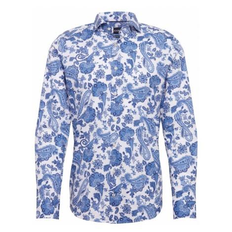 JOOP! Koszula 'Panko' niebieski / biały