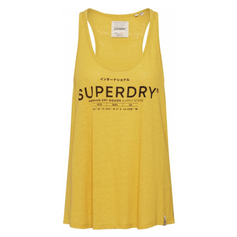 Superdry Top żółty