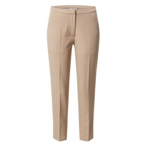 Minimum Spodnie w kant 'Halle e54' beżowy
