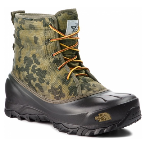Śniegowce THE NORTH FACE - Tsumoru Boot T93MKS8HN Termac Green Macrofleck Print/Tarmac Green