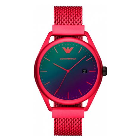 Zegarek EMPORIO ARMANI - Matteo AR11329 Red/Red